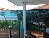 Backyard Mural
