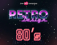 10 FREE 80S TEXT EFFECTS