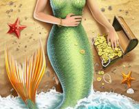 Mermaid Throw