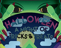 """Movie Poster, """"Halloween: A Night of Tricks and Treats"""""""