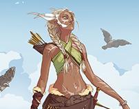 Ghilan'nain (elvish goddess)