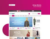 Kiraz Giyim UI/UX Design