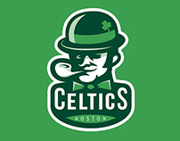 Boston CELTICS rebranding