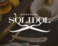 Solidol Barbershop | logotype