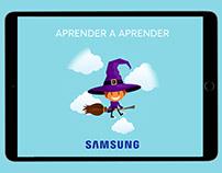 APRENDER A APRENDER | Campaña Samsung Ad Wash