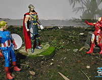 PaperToy Photography - Avengers