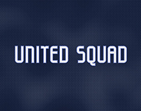 United Squad - Custom Sports Typeface
