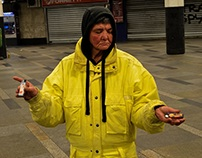 HUMAN FACES // portraits of homeless people