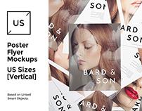 US Flyer / Poster Mock-up's