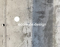 École de design UQAM - Rebranding