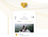 LoveU - mobile app with healing sessions for your heart