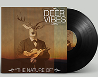 Deer Vibes Record Design