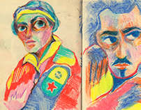 Sketchbook   July