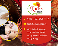 Facebook Page Cover Design For Looks Ladies Beauty Parl