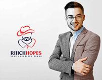 RIIICHHOPES logo design | brand identity