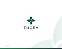 TÜÇEV Logo design