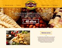 Tamales Nueva Santa María sitio web