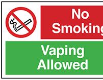 No Smoking, Vaping Allowed