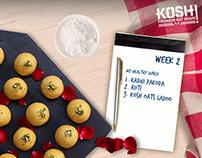 Kosh- Recipe of the Month
