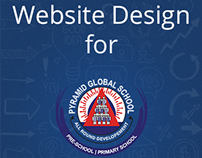 Website Design for Pre-school - Pyramid Global School