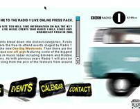 Radio 1 Live Press Microsite