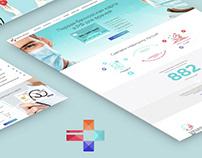 Website Design Doctor's Card - Communication platform