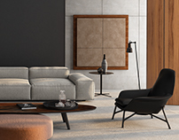 Minotti Model Furniture