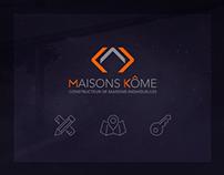 Webdesign - Maisons kôme
