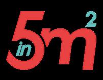 Cookin5m² Food Blog Brand Lifting