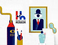 HHmuseum Project Branding | 兒童博物館串聯 品牌規劃