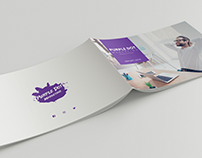 Purple Dot Brochure Design