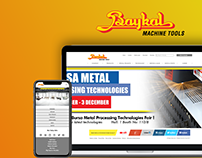 Baykal Machine Tools Corporate Website