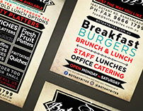 Catering A5 Promo Card / Flyer