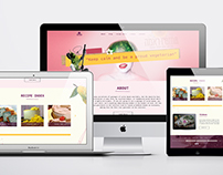Web design&print : Rama raw food