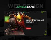 Junglegame / Web-design