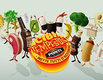Ponti Cibi Tempestosi - Campagna digital