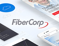 FiberCorp Digital brand + Redesigned Website