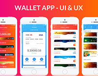 Mobile Wallet -UX UI Inspiration Interface interaction