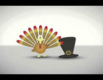 Tom Turkey and The Pilgrim Hat