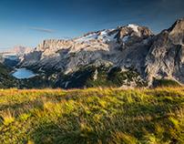 Marmolada. Dolomites. Italy