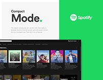 Spotify Compact Mode