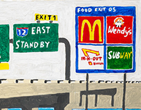 Painting: Exit 1
