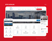 Website Catalog of services and executors   YseTut