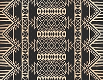 Aztec Tribal Mexican Seamless Patterns