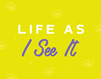 Podcast Cover | Life as i see it