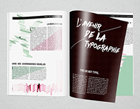 Mise en page / Typography
