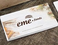 EME foods - Identidade Visual