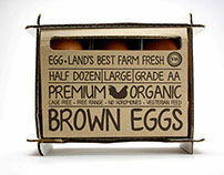 Organic Eggs Packaging