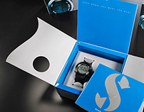 ScubaPro Dive Watch packaging