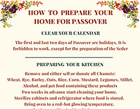 Passover Infographic
